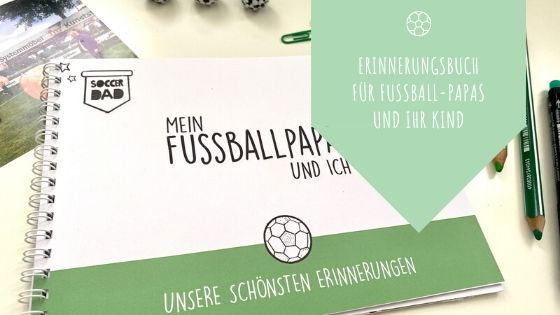 Einnerungsbuch für Fussball-Papas